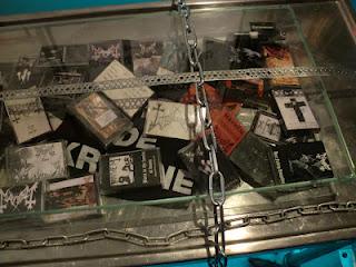 Svart hjemmelaget kassetter